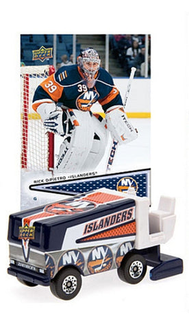 2008/9 NHL Zamboni - New York Islanders With Rick Dipietro Trading Card - Peazz.com