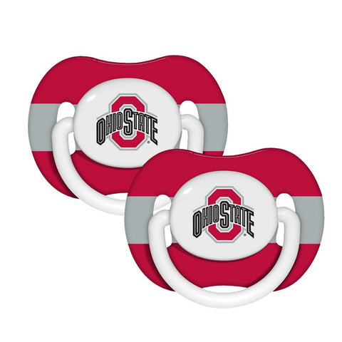 Baby Pacifiers 2-Pack - Ohio State - Peazz.com