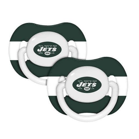 Baby Fanatic Baby Pacifiers 2-Pack - New York Jets - Peazz.com