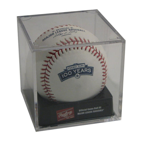 Rawlings Boston Red Sox Fenway 100Th Anniversary Baseball In Cube - Peazz.com