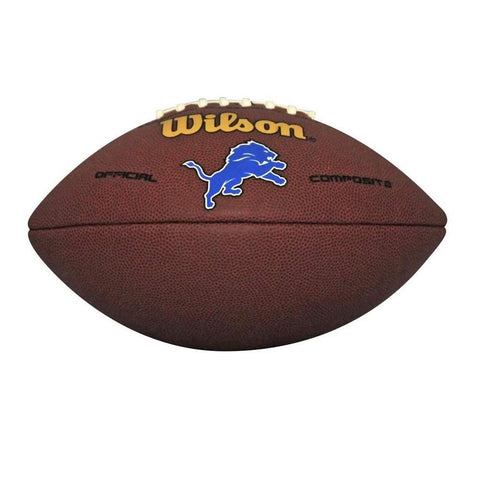 Wilson Composite Football - Detroit Lions - Peazz.com
