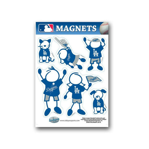 Family Magnets - Los Angeles Dodgers - Peazz.com