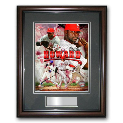 Treehugger 11X14 Unsigned Framed Photo - Philadelphia Phillies Ryan Howard - Peazz.com