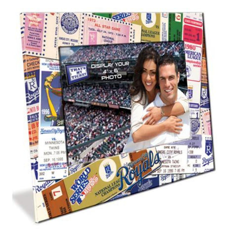 4X6 Picture Frame - Kansas City Royals - Peazz.com
