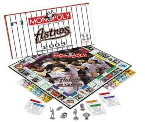 Monopoly Houston Astros 05 Nlcs Ed - Peazz.com