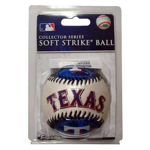 Franklin Soft Strike Baseball - Texas Rangers - Peazz.com