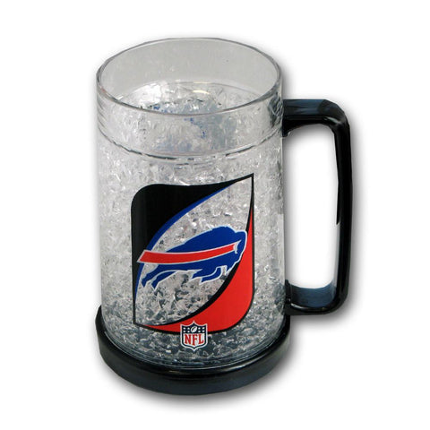 16Oz Crystal Freezer Mug NFL - Buffalo Bills - Peazz.com