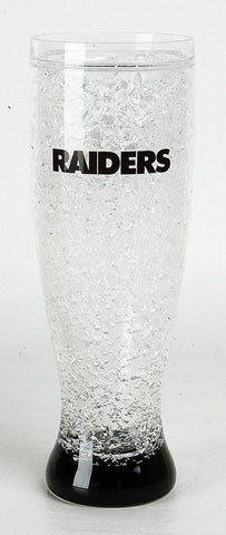 16Oz Crystal Freezer Pilsner NFL - Oakland Raiders - Peazz.com
