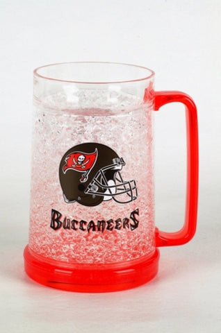 16Oz Crystal Freezer Mug NFL - Buccaneers - Peazz.com