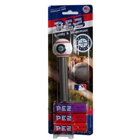 Pez Candy Dispenser 12Ct - Seattle Mariners - Peazz.com