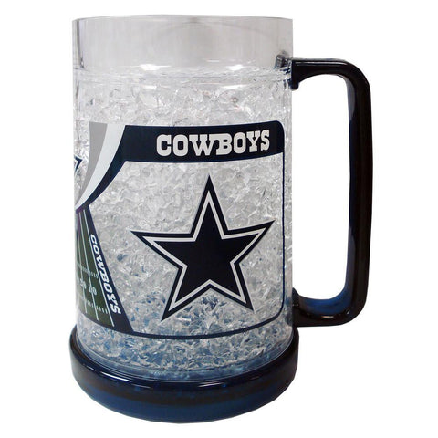 16Oz Crystal Freezer Mug NFL - Dallas Cowboys - Peazz.com