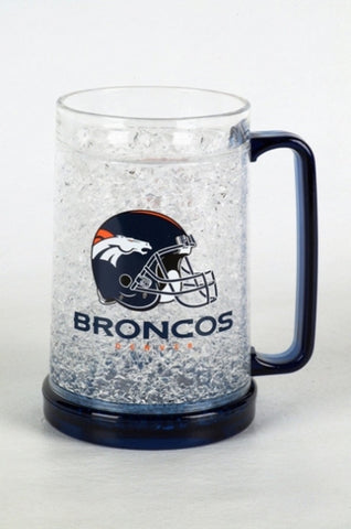 16Oz Crystal Freezer Mug NFL - Denver Broncos - Peazz.com