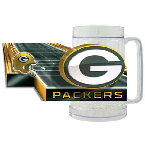 16Oz Crystal Freezer Mug NFL - Green Bay Packers - Peazz.com