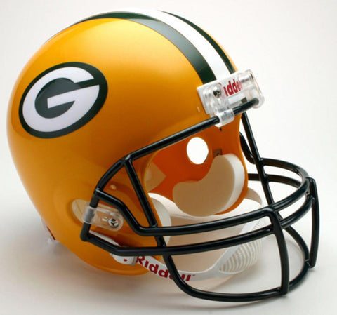 NFL Full Size Deluxe Replica Helmet - Packers - Peazz.com