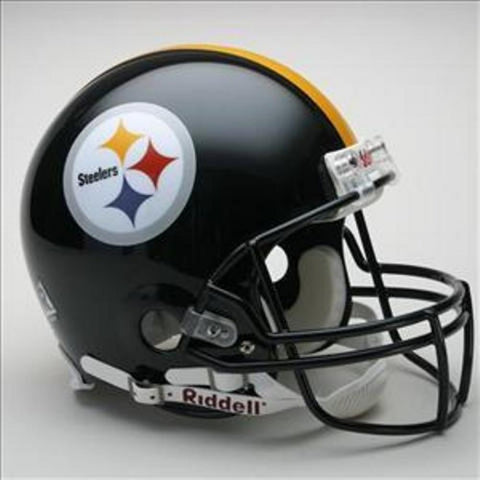NFL Full Size Deluxe Replica Helmet - Steelers - Peazz.com