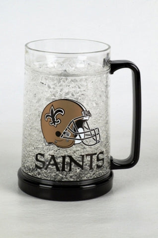 16Oz Crystal Freezer Mug NFL - New Orleans Saints - Peazz.com