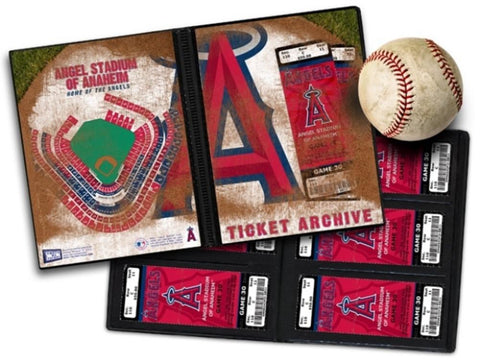 Ticket Album MLB - Los Angeles Angels of Anaheim (Holds 96 Tickets) - Peazz.com