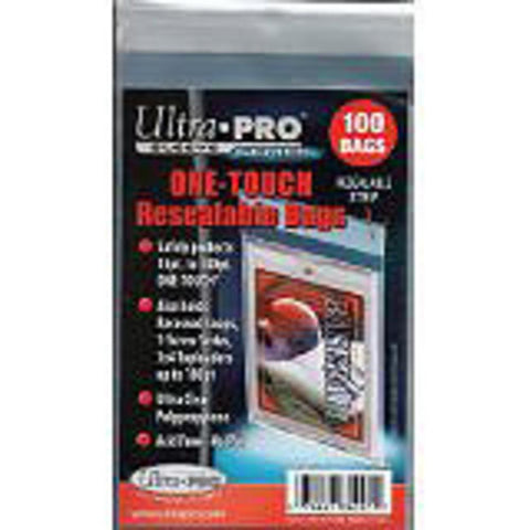 Ultra Pro One Touch Resealable Bags - Peazz.com
