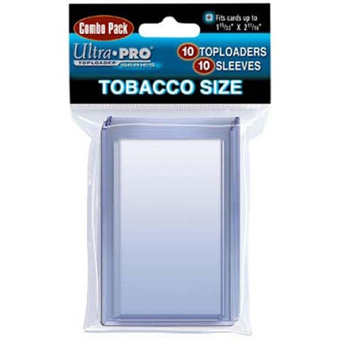Ultrapro Tobacco Size Toploaders & Sleeves Combo Packs - Peazz.com