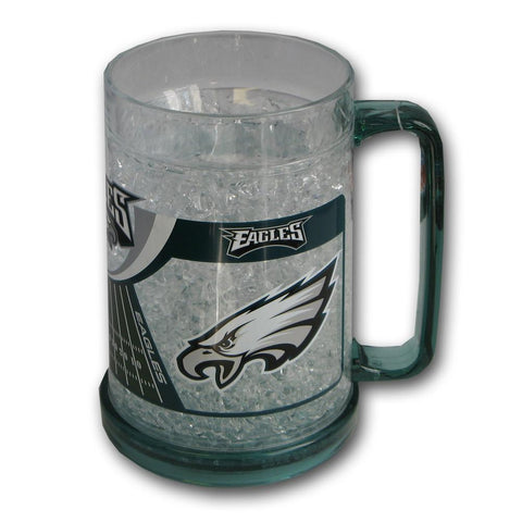 16Oz Crystal Freezer Mug NFL - Philadelphia Eagles - Peazz.com