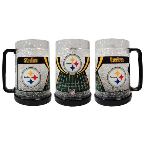 16Oz Crystal Freezer Mug NFL - Pittsburgh Steelers - Peazz.com