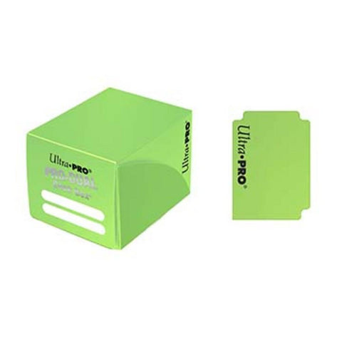 Ultra Pro Small Pro Dual Deck Box Light Green - Peazz.com