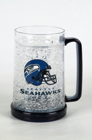 16Oz Crystal Freezer Mug NFL - Seattle Seahawks - Peazz.com