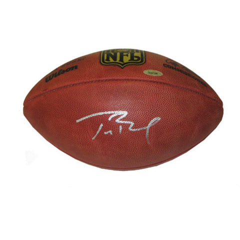 Autographed Tom Brady Official NFL Football. - Peazz.com
