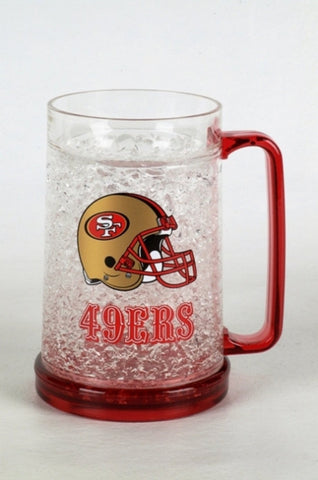 16Oz Crystal Freezer Mug NFL - San Francisco 49ers - Peazz.com