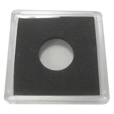 2X2 Plastic Coin Holder With Black Insert - Cent (25 Holders) - Peazz.com