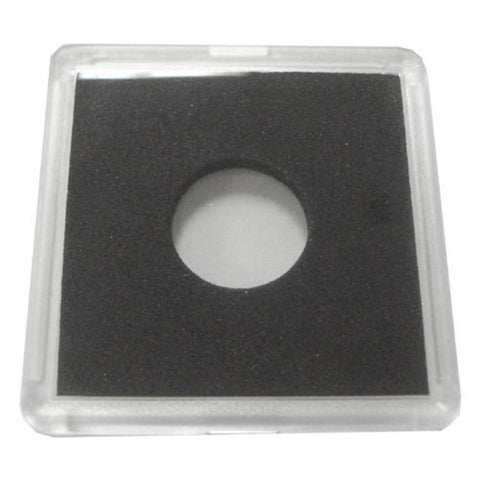 2X2 Plastic Coin Holder With Black Insert - Dime (25 Holders) - Peazz.com