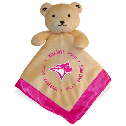 Baby Fanatic Pink Trimmed Snuggle Bear - Peazz.com