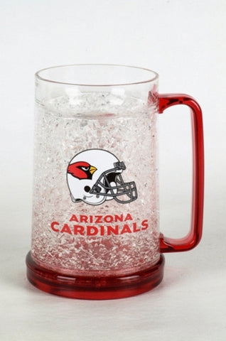 16Oz Crystal Freezer Mug NFL - Arizona Cardinals - Peazz.com