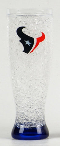16Oz Crystal Freezer Pilsner NFL - Houston Texans - Peazz.com