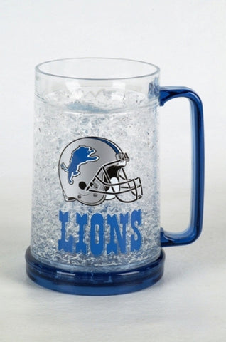 16Oz Crystal Freezer Mug NFL - Detroit Lions - Peazz.com