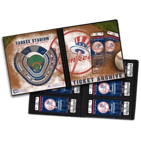 Ticket Album MLB - New York Yankees (Holds 96 Tickets) - Peazz.com