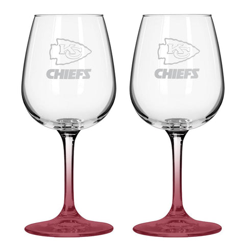 12Oz Nfl/Chiefs 2Pk Wine - Peazz.com