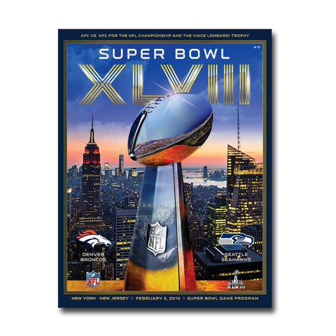 Super Bowl 48 Game Program - Peazz.com