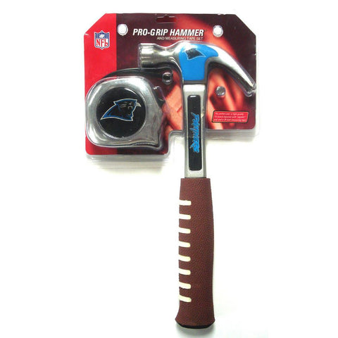 Team Promark NFL Measuring Tape + Hammer Combo Pack - Carolina Panthers - Peazz.com