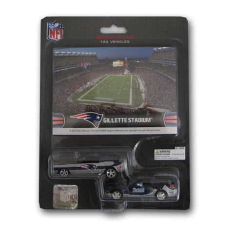 Ford Mustang And Dodge Charger 1:64 Scale Diecast Cars - New England Patriots - Peazz.com
