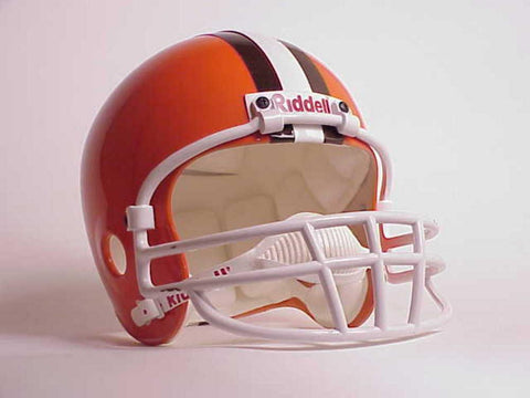 NFL Full Size Deluxe Replica Helmet - Browns - Peazz.com