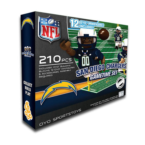 San Diego Chargers Game Time Set - Peazz.com