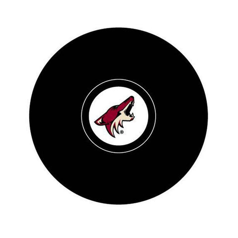 Team Logo Hockey Puck - Phoenix Coyotes - Peazz.com