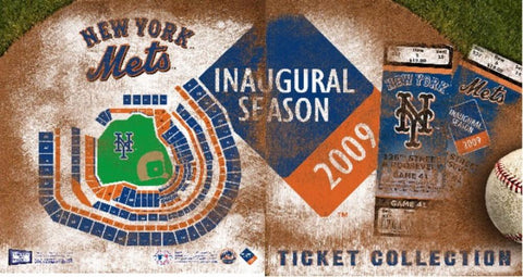 Ticket Album MLB - New York Mets (Holds 96 Tickets) - Peazz.com