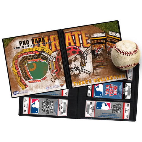 Ticket Album MLB - Pittsburgh Pirates (Holds 96 Tickets) - Peazz.com