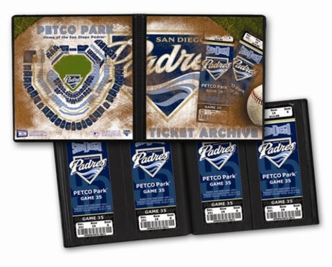 Ticket Album MLB - San Diego Padres (Holds 64 Tickets) - Peazz.com