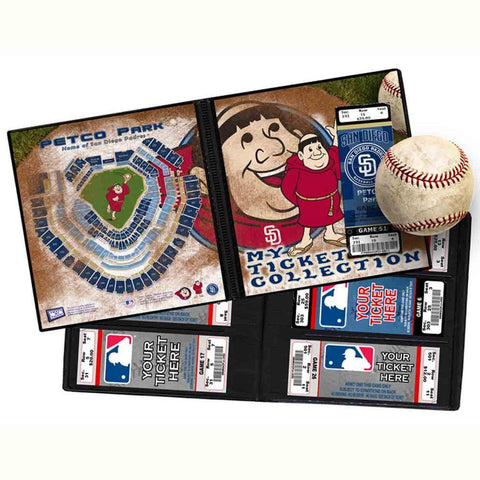 Ticket Album MLB - San Diego Padres Mascot - Peazz.com