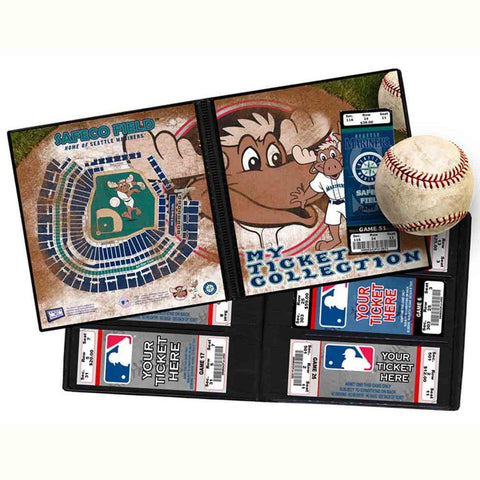 Ticket Album MLB - Seattle Mariners Mascot - Peazz.com