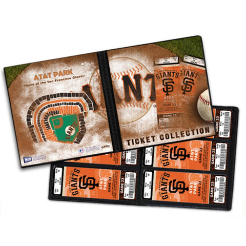 Ticket Album MLB - San Francisco Giants (Holds 96 Tickets) - Peazz.com