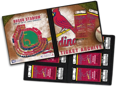 Ticket Album MLB - St. Louis Cardinals (Holds 96 Tickets) - Peazz.com